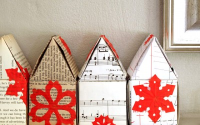 Paper Cut Pattern Houses