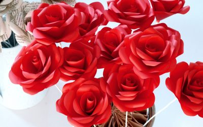 Rose Bouquets – Paper Blooms for a Very Special Occasion