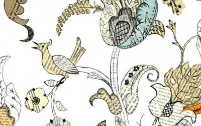 Jacobean Paper Embroidery