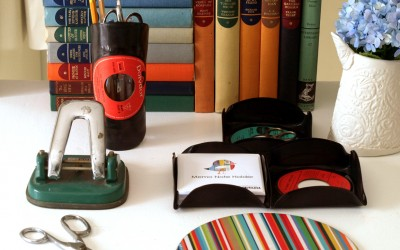 Vinyl Record Recycled – Desk Top Accessories