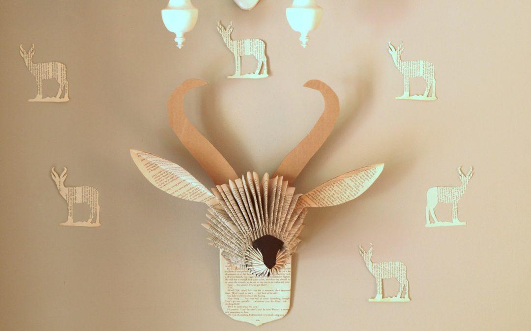 Book Paper Trophy