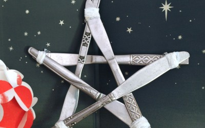 Recycled Cutlery Star –  Twinkle Twinkle..