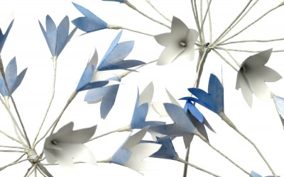 Paper Agapanthus Flowers