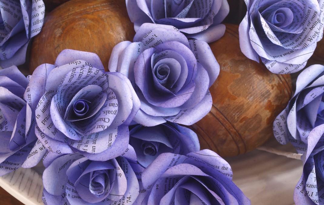 Gentian Roses
