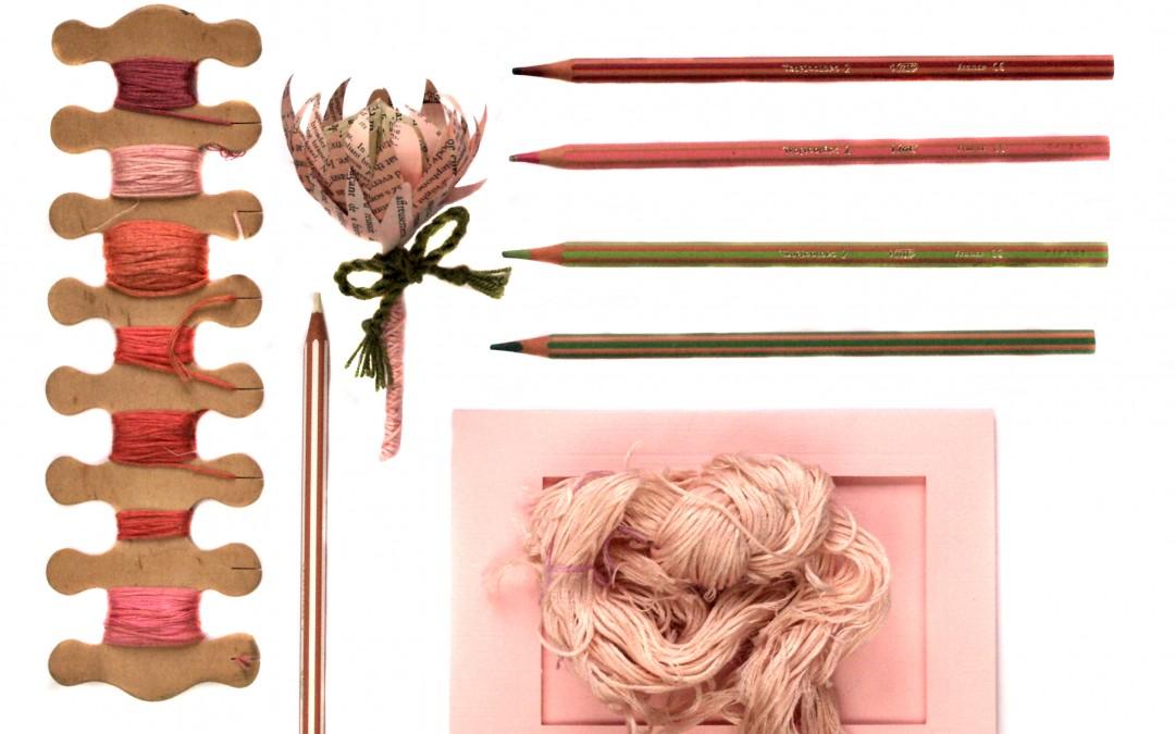Paper Protea Buttonholes – Pretty Pink