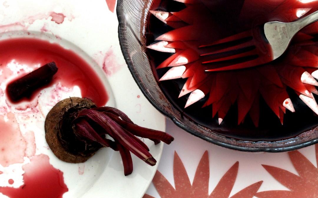 Beetroot Dye for Beautiful Paper Flowers