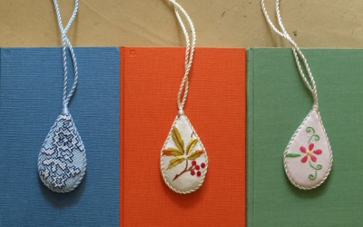 Textile Jewellery Pendants