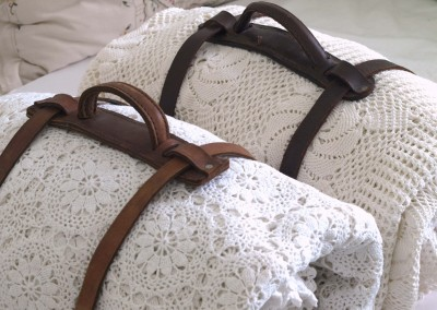 Coiled Blankets and Blanket Strap