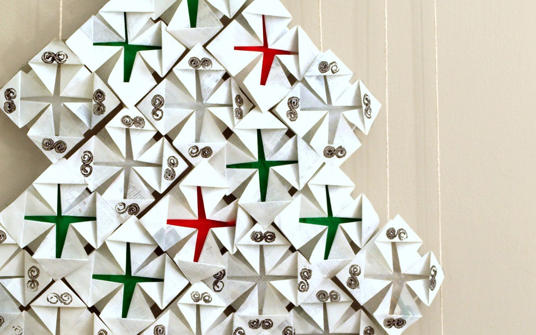 Modular Paper Tree for Christmas