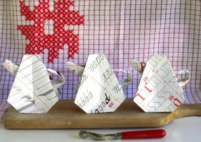 Origami and Cross-stitch