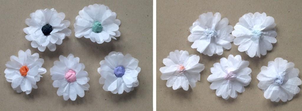 Delicate Paper Daisy Chain