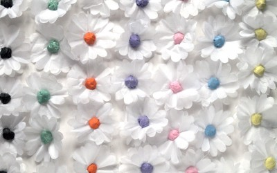 Tissue Paper Daisy Chain DIY for Special Event