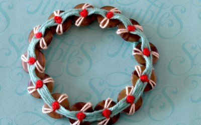 Button Thread Bracelets – DIY