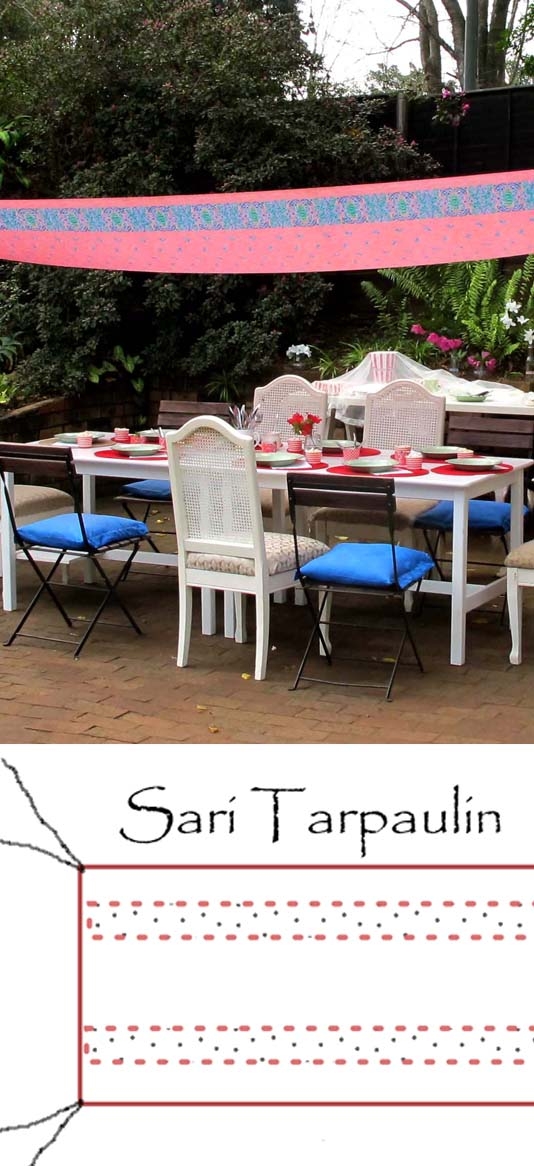Sari Tarpaulin - As seen on Pinterest