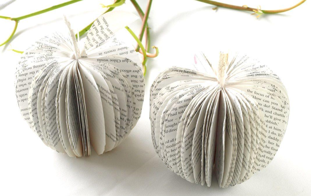 Book Paper Apples