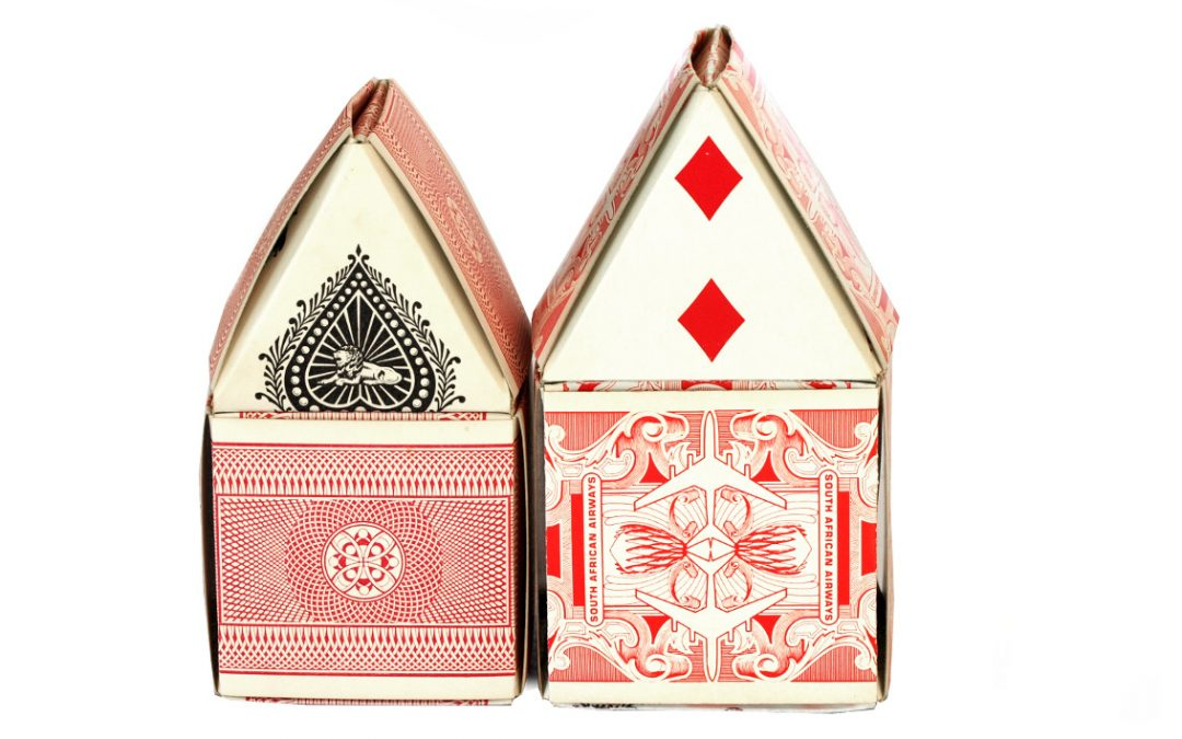 Create a Village of Playing Card Houses