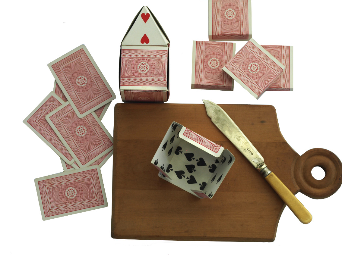 how to make playing cards