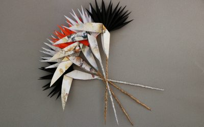 Paper Strelitzia Project with Artist Lesley Magwood Fraser