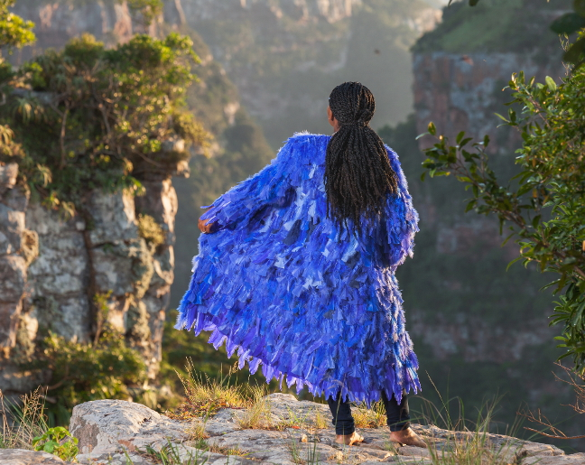 Bright Feather Jackets Take Flight