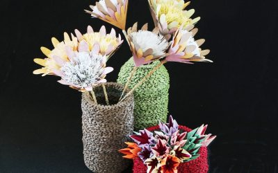 Puzzle Craft Pots for Woza Moya Exhibition