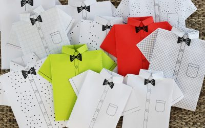 Paper Origami Shirts – DIY – Full Instructions