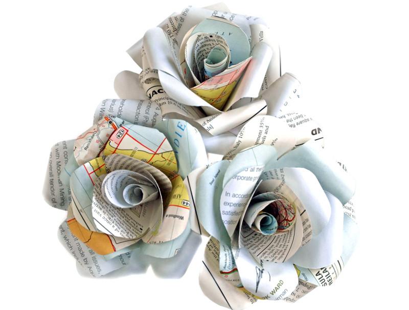 Paper Rose Trio