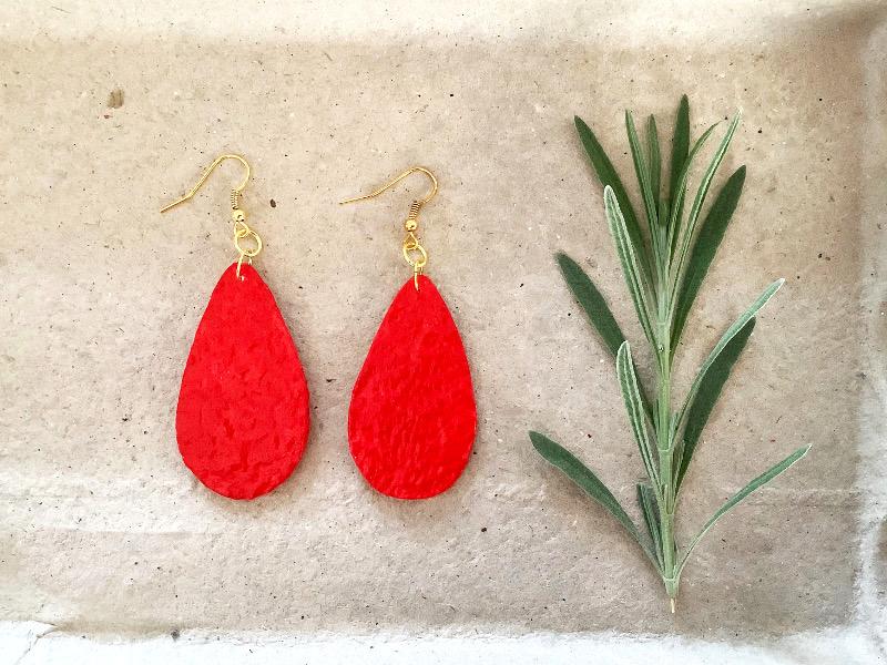 Egg Box Earrings