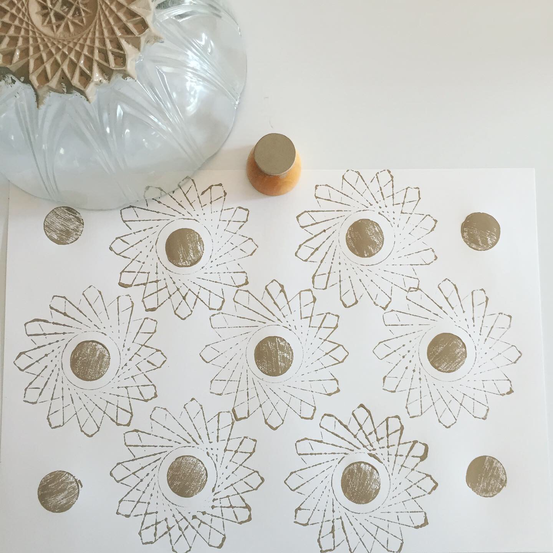 Hand Print Patterns