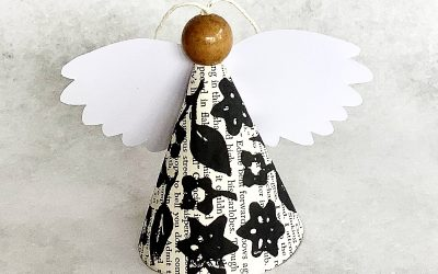Linocut Angels – Inspiration for Next Christmas