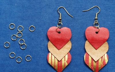 Paper Earrings – Jewellery from Recycled Papers