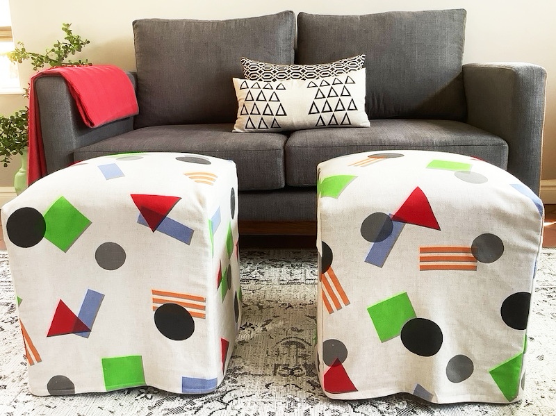 Geometric Screen-print from Bright Colours